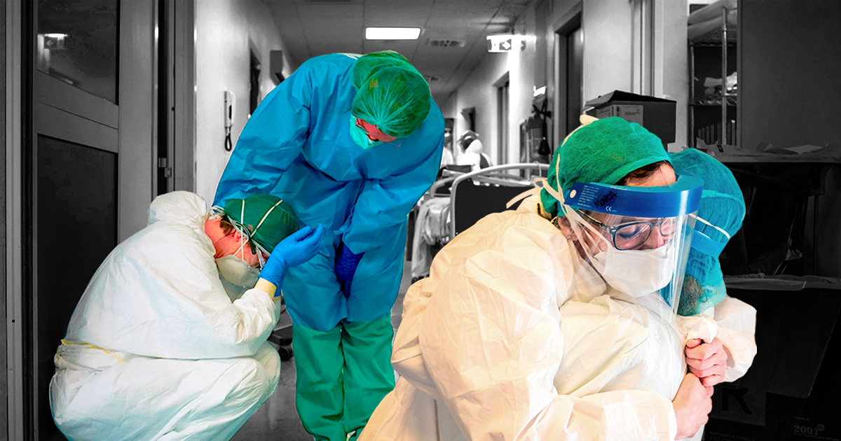 Inside Italy's coronavirus hospital